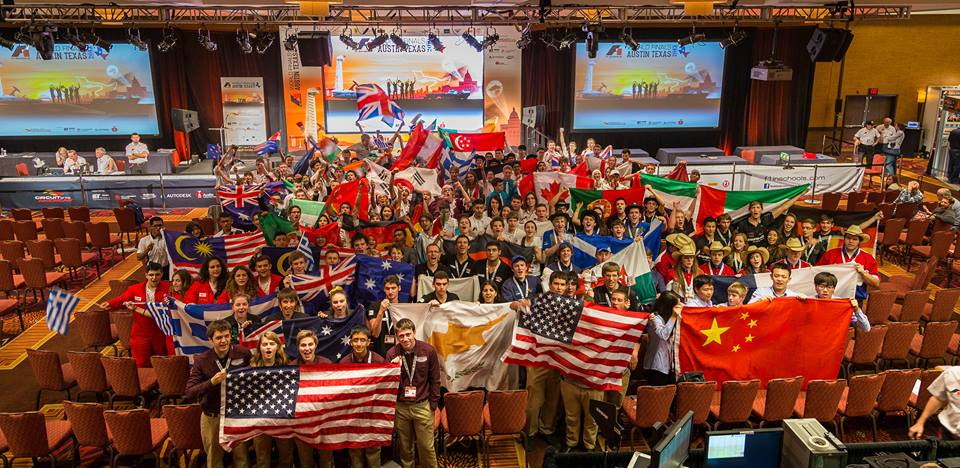 F1 in Schools World Finals 2013 - 38 teams from 22 countries