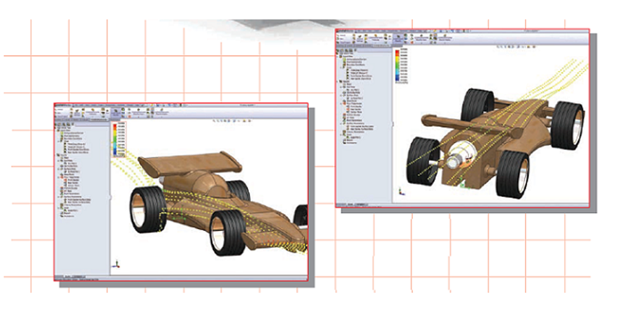 Design-and-Analyze-of-F1-in-Schools-Models